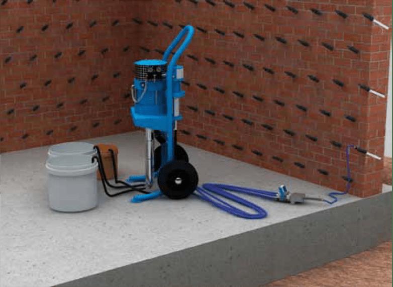 Инъектор для бетона как сделать цементный водостойкий раствор